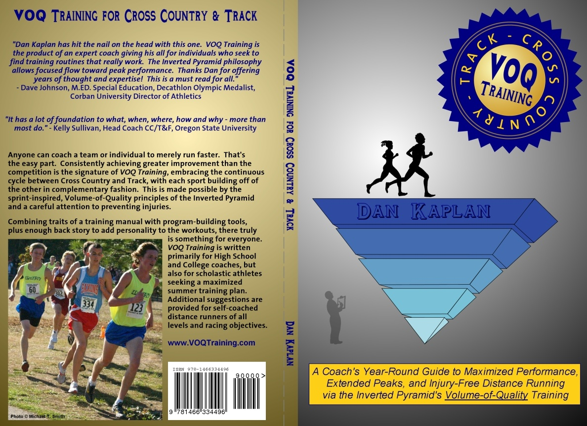 Dan Kaplan S Voq Training For Cross Country Track